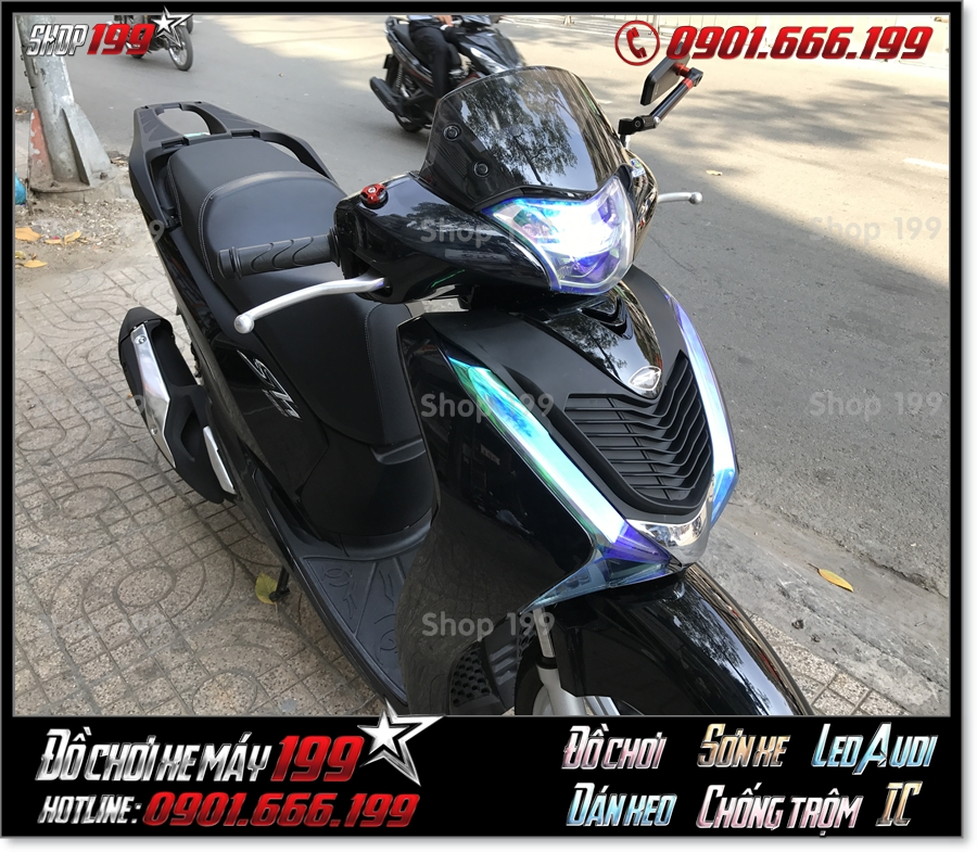 Picture of gắn kính chắn gió Thailand cho Honda SH 150/125 2017 2018 2019 giá rẻ ở shop 199