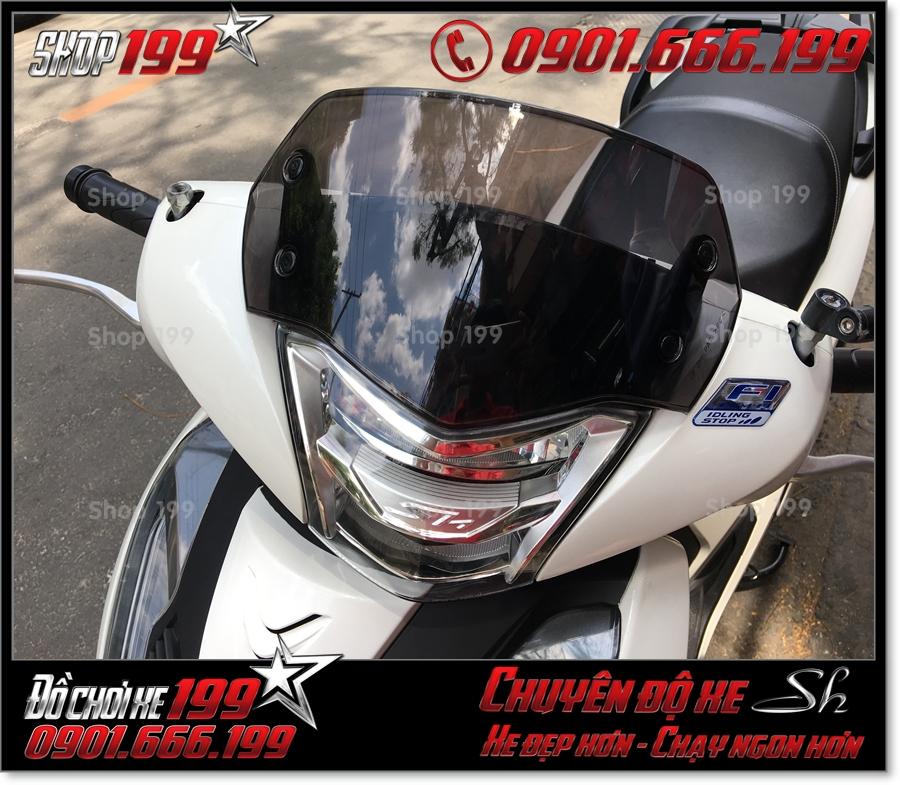 Photo độ kính chắn gió từ Thái cho xe SH 2017 2018 2019 125/150 giá rẻ ở shop 199 0578