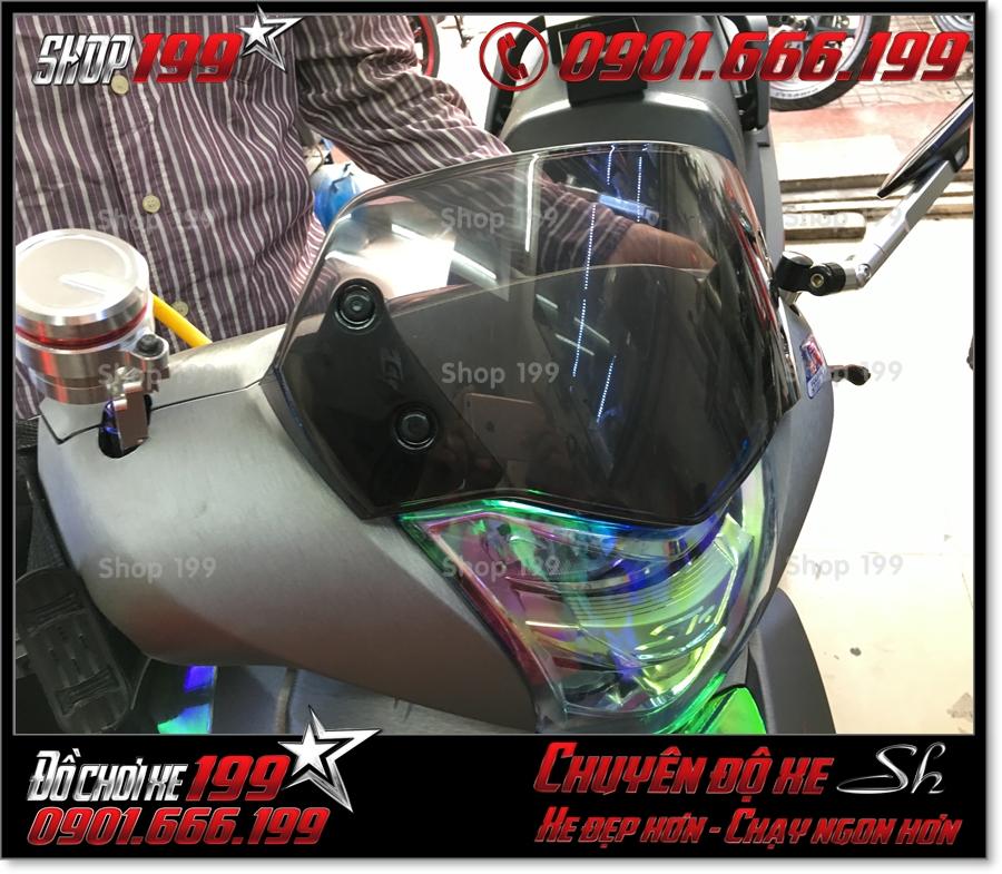Image of Honda SH 2017 2018 2019 125 150 gắn kính chắn gió hàng nhập Thái Lan đẹp giá rẻ tại 199 0380