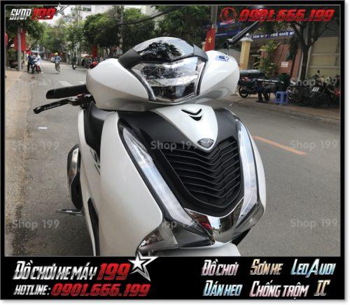 Hình ảnh gắn mặt nạ SH 150 2017 kiểng hàng nhập Thái Lan giá rẻ tại HCM