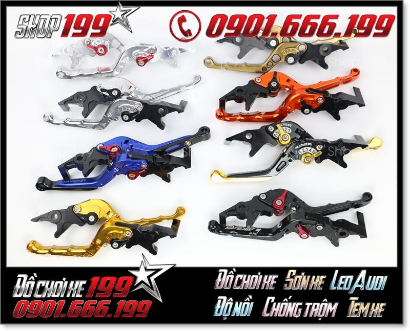 Những mẫu tay thắng biker 6 số với đủ các màu sắc độ đẹp cho xe máy tại tpHCM