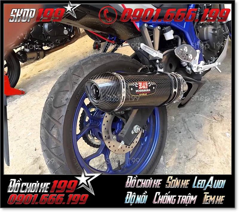 Pô Yoshimura độ đẹp và đẳng cấp cho xe máy