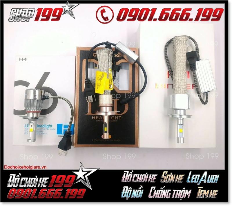 Bóng đèn pha led philips lumileds chính hãng, siêu sáng, giá cả hợp lý