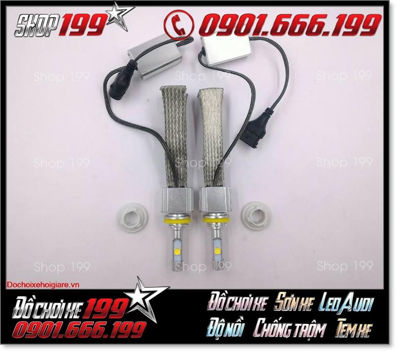 Bóng đèn pha led philips lumileds chính hãng, siêu sáng, tiết kiệm điện