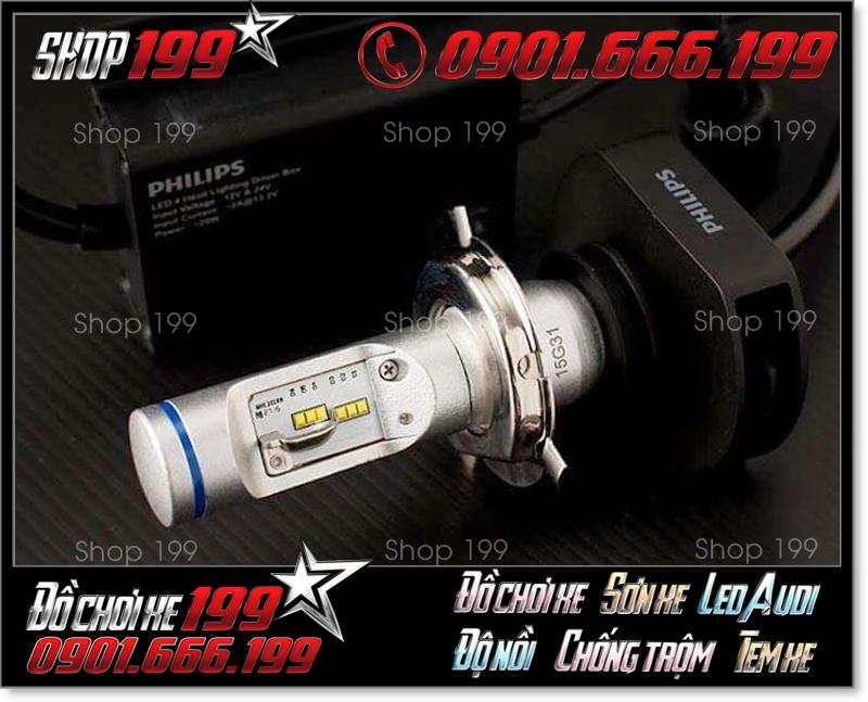 Đèn Pha Led PhilipsXtreme UltinonH4 có driver điều khiển riêng