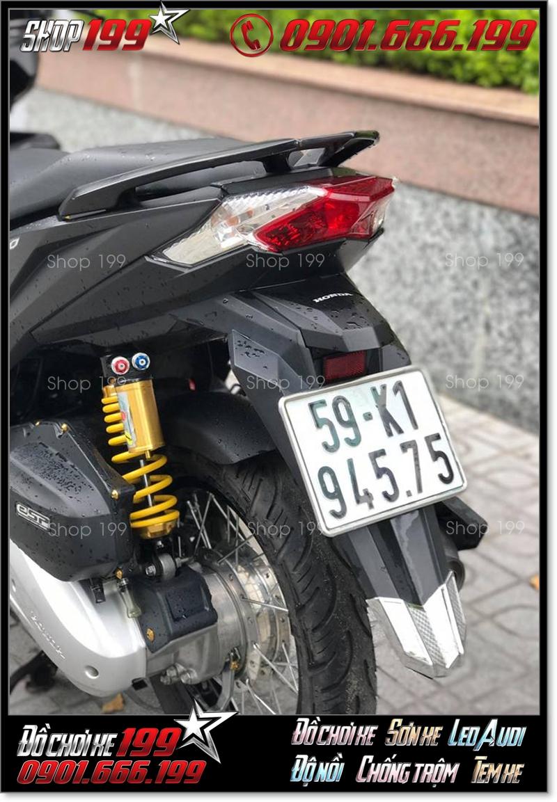 Honda Click Thái 125 độ Phuộc G@zi cực chất và ngầu