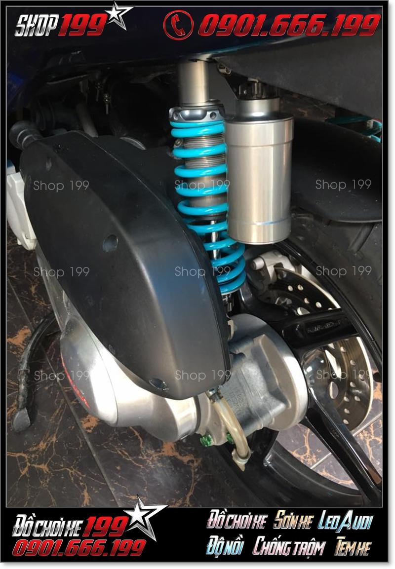 Phuộc Nitron độ cực phong cách cho xe Honda SH ý