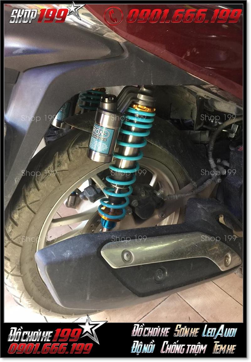 Phuộc Nitron độ đẹp cho xe Honda SH ý