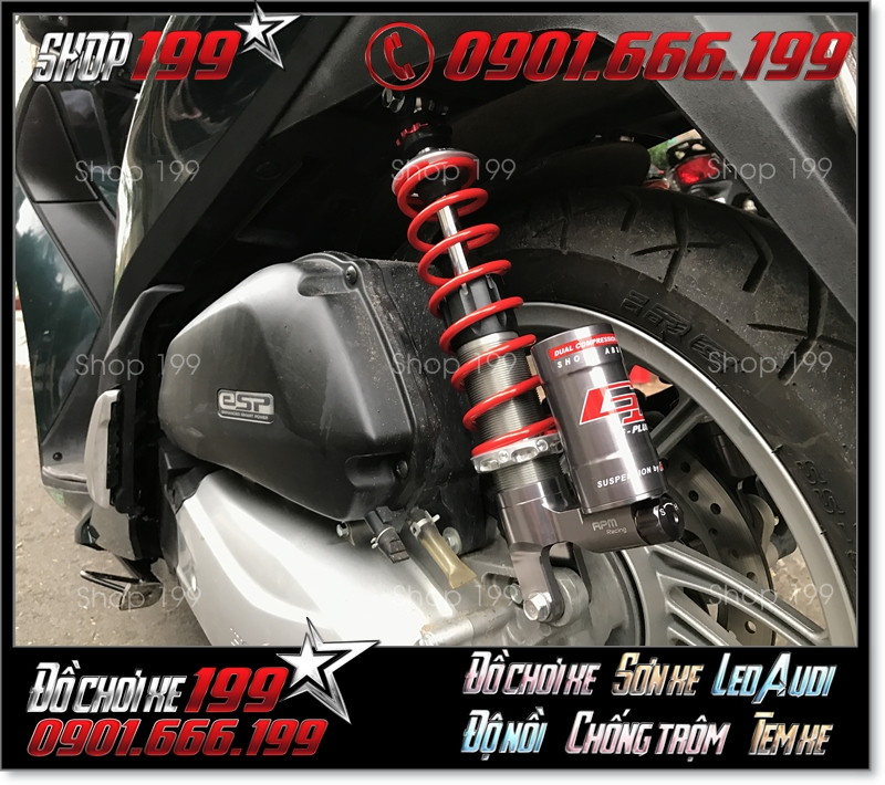 Phuộc RPM gắn cho xe Honda SH