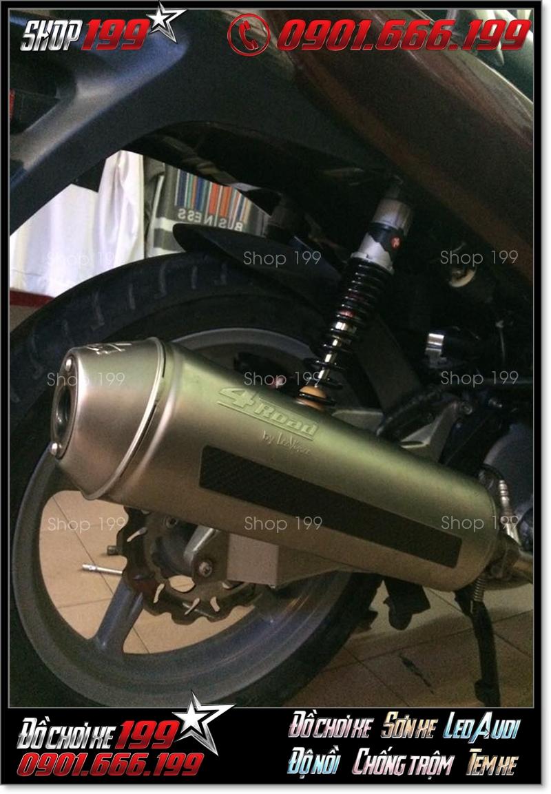 Pô 4road chính hãng  2009 2010 độ đẹp cho xe máy