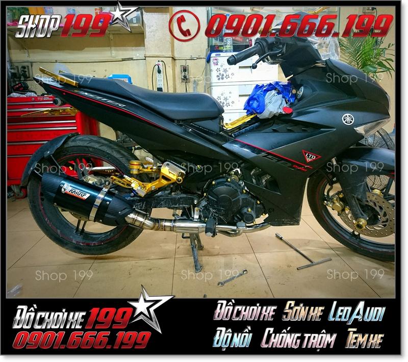 Pô Mivv độ ngầu và đẹp cho xe Yamaha Exciter 150