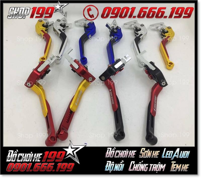 Tay thắng Biker 6 số kéo gãy đủ các loại màu sắc để các bạn lựa chọn