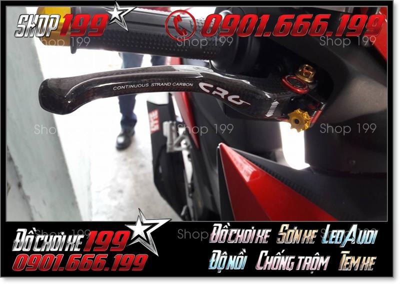 Honda Winer độ tay thắng CRG carbon cực đẹp và phong cách