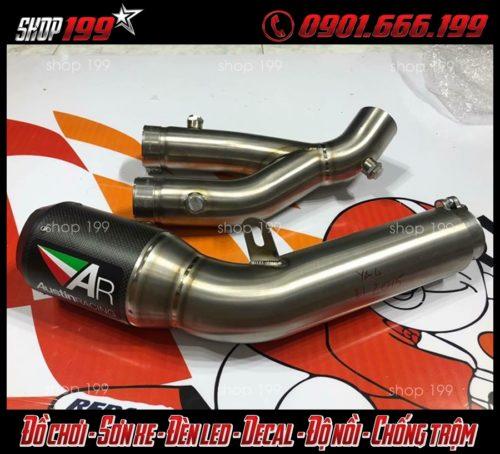 Cây pô Arrow cực chất và ngầu dành cho xe Yamaha Fz 150i
