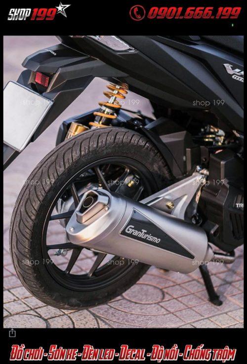 Hình ảnh: Honda Vario 150 lên pô Granturismo và phuộc Ohlins cực đẳng cấp và đẹp