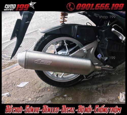 Hình ảnh: Pô 4oad độ đẹp và đẳng cấp cho Honda Vario 150 Click Thái 125