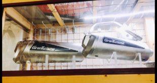 Hình ảnh: Pô Granturismo đẳng cấp được trưng trong tủ kiếng