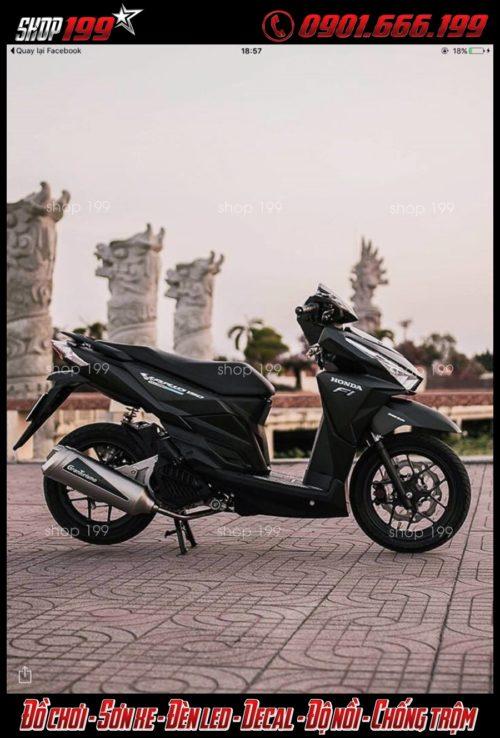 Honda Vario 150 độ pô Granturismo cực đẹp và ngầu