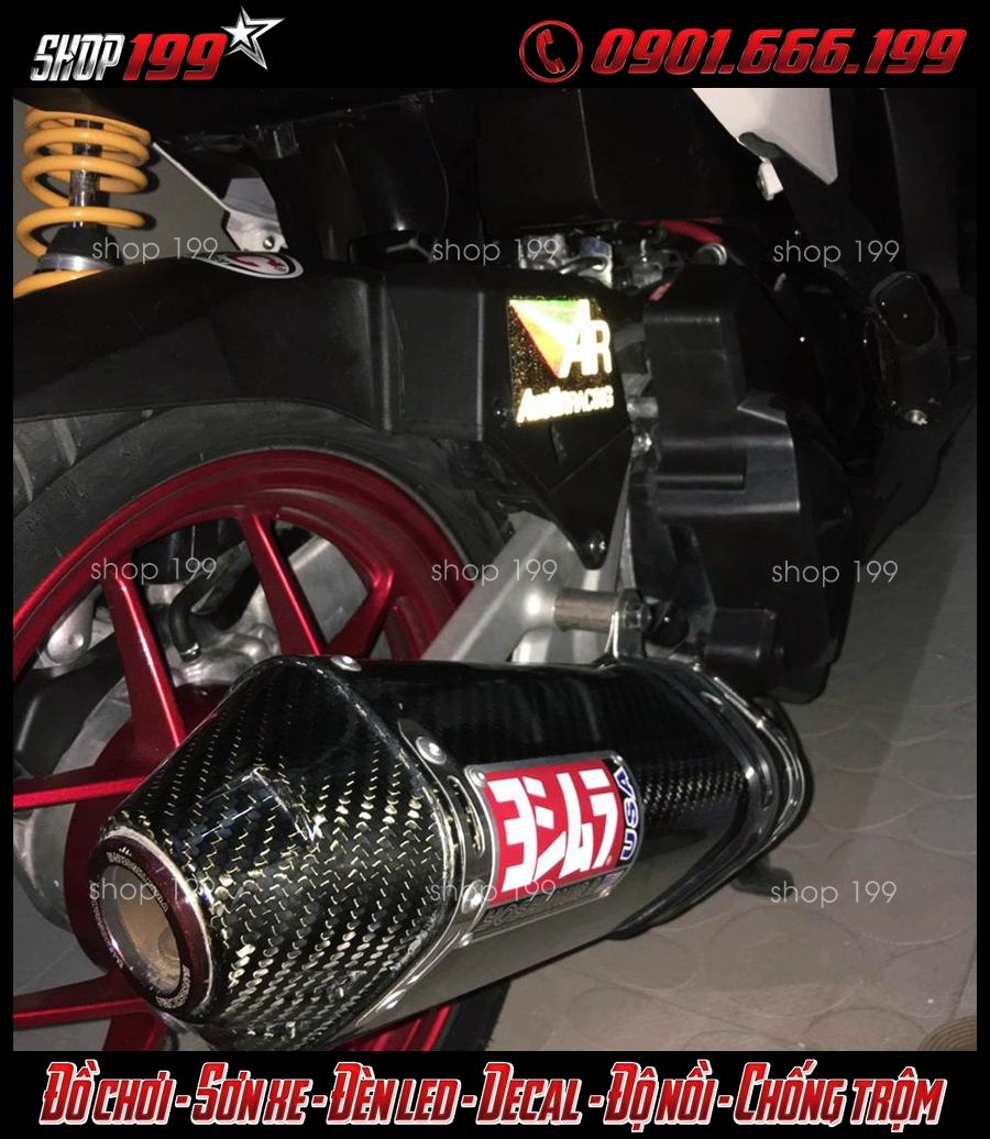 Honda Vario độ pô Yoshimura và phuộc Ohlins cực độc và sang tại HCM