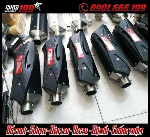 Những cây pô R9 độ ngầu dành cho xe Yamaha Fz 150i
