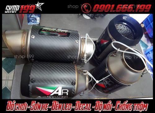 Những lon pô cực chất độ đẹp cho xe Yamaha Fz 150i