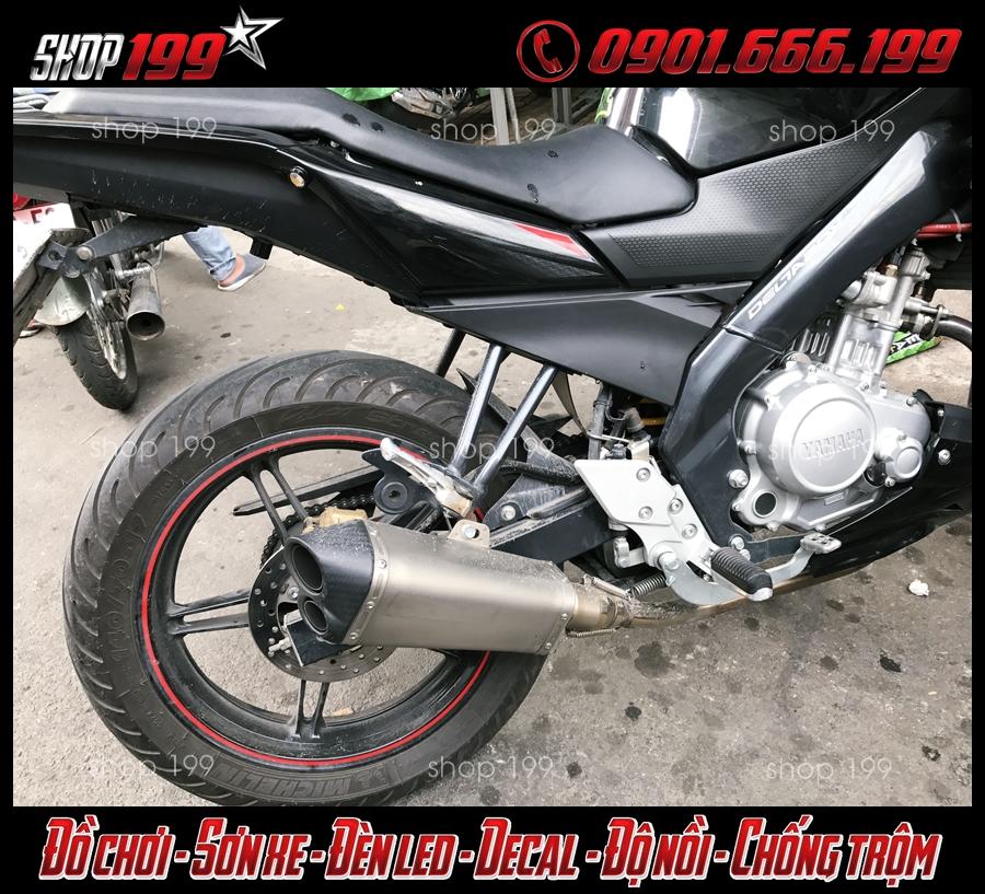 Pô Akrapovic độ đẹp và chất dành cho xe Yamaha Fz 150i tại HCM