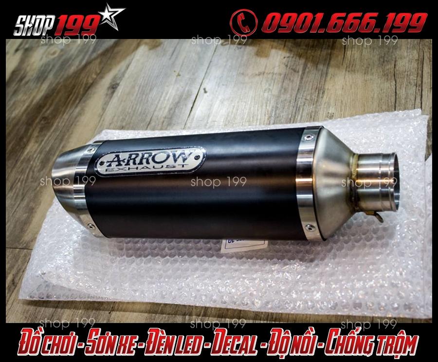 Pô Arrow cực chất độ cho xe Yamaha Fz 150i