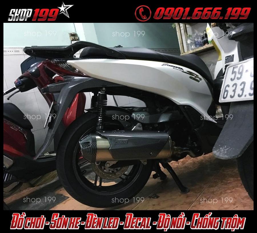 Xe Honda Sh 300i độ pô Mivv cực chất