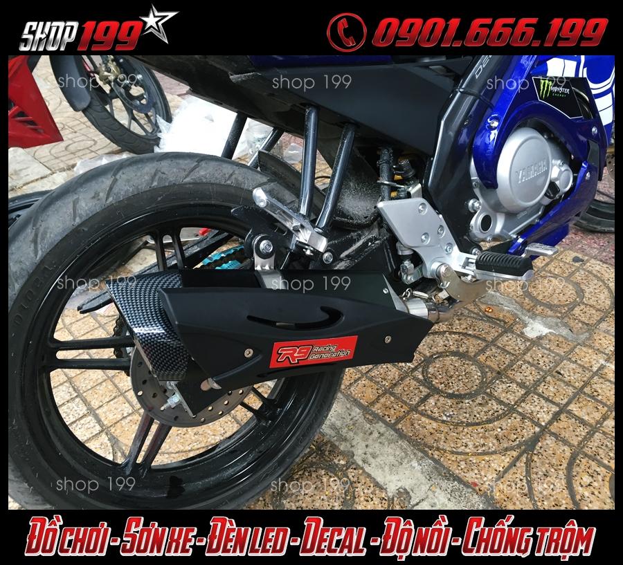Yamaha Fz 150i độ pô R9 bắt mắt và đẹp tại HCM