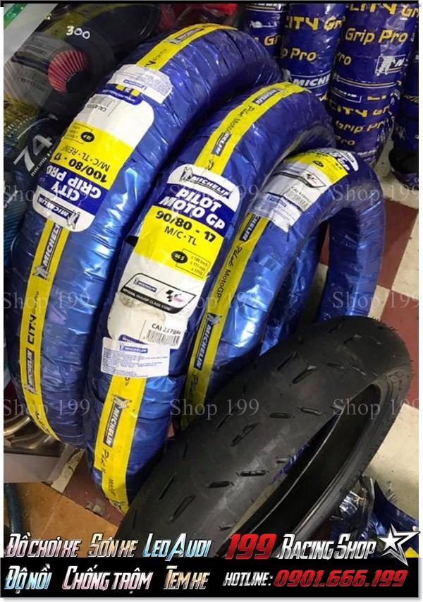 Lốp Michelin GP cho các xe không ruột phổ biến tại TP HCM.