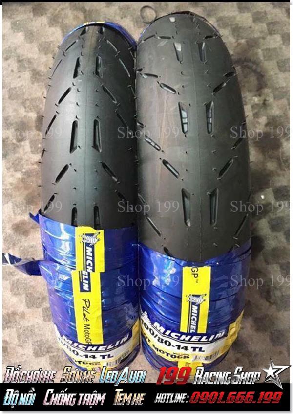 Lốp Michelin GP cho hầu hết dòng xe không ruột phổ biến ở TP HCM.
