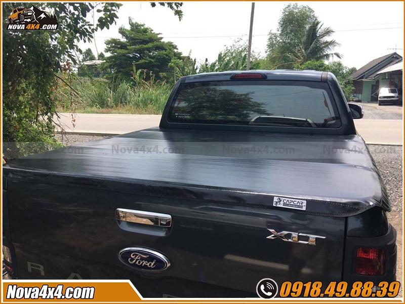 Tác dụng của nắp thùng xe bán tải BT50 Colorado Ford Ranger Dmax Navara Triton Hilux