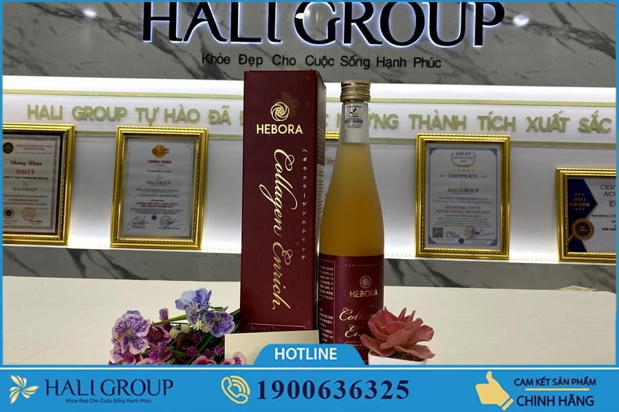 Giải đáp câu hỏi thường gặp khi dùng nước uống Collagen Hebora Enrich Nhật Bản